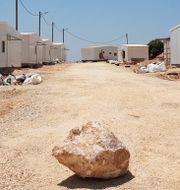 Israeliska bosättningar på Västbanken. Ilan Ben Zion / TT NYHETSBYRÅN