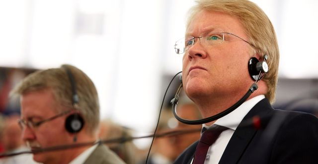 Lars Adaktusson. FREDRIK PERSSON / TT / TT NYHETSBYRÅN