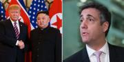 Trump möter Kim för att flytta fokus från Cohens vittnesmål  TT