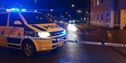 Polisavspärrning i Gislaved.  Dejana Pasic/P4 Jönköping
