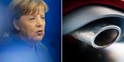 Angela Merkel/avgasrör. TT