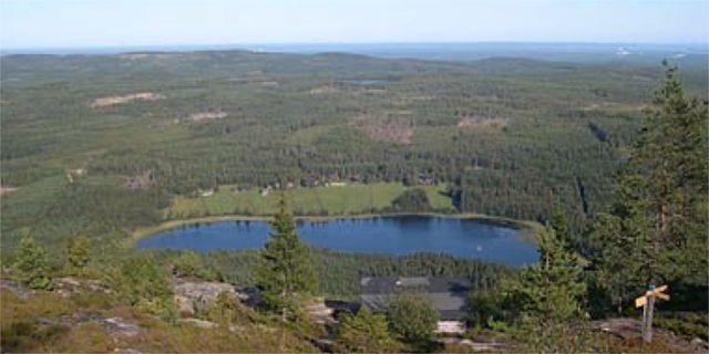 Flickan försvann när hon var på väg upp på Blacksåsberget med sin familj. Länsstyrelsen Gävleborg.