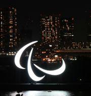 Symbolen för Paralympics Shuji Kajiyama / TT NYHETSBYRÅN