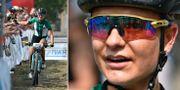 Jenny Rissveds under dagens SM-tävling. TT