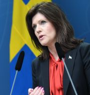 Arbetsmarknadsminister Eva Nordmark.  Fredrik Sandberg/TT / TT NYHETSBYRÅN
