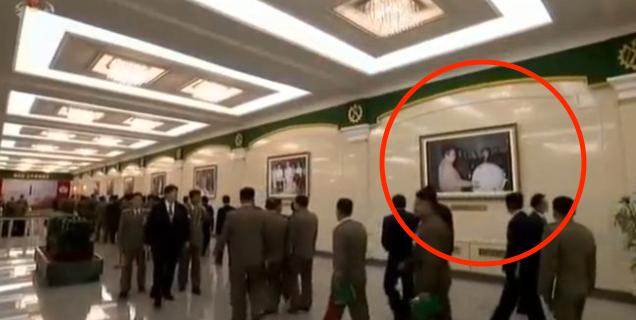 Nordkoreanska tv-bilder.