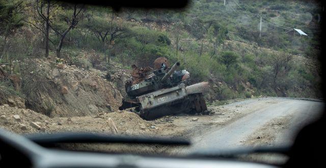 De senaste stridigheterna i Trigray bröt ut i november förra året. Arkivbild.  Ben Curtis / TT NYHETSBYRÅN