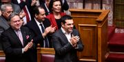 Greklands premiärminister Alexis Tsipras ANGELOS TZORTZINIS / AFP