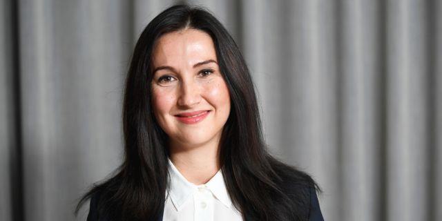 Aida Hadzialic. Fredrik Sandberg/TT / TT NYHETSBYRÅN