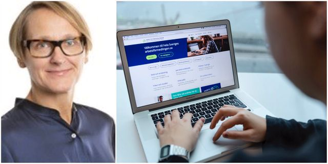 Annica Sundén, analyschef på Arbetsförmedlingen.  Arbetsförmedlingen / TT