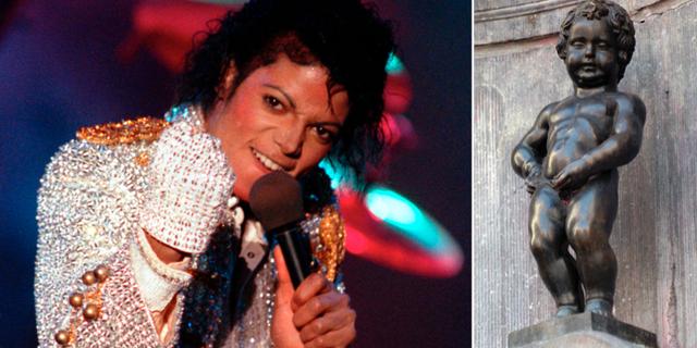 Michael Jackson/Manneken Pis. TT