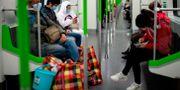 Tåg i Hubei, Kina NOEL CELIS / TT NYHETSBYRÅN