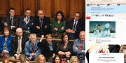 Brittiska underhuset/montage.  TT