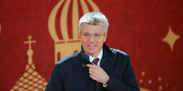 Rysslands idrottsminister Pavel Kolobkov Dmitri Lovetsky / TT / NTB Scanpix