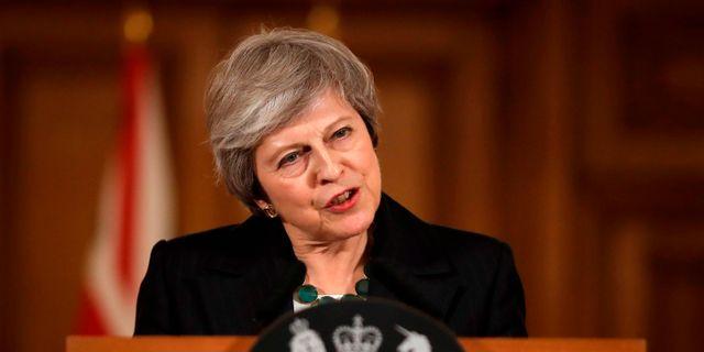 Theresa May. MATT DUNHAM / POOL