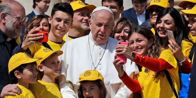 Påve Franciskus. Alessandra Tarantino / TT NYHETSBYRÅN/ NTB Scanpix