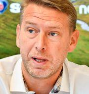 Northvolts vd Peter Carlsson. Jonas Ekströmer/TT / TT NYHETSBYRÅN