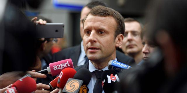Emmanuel Macron ERIC FEFERBERG / AFP