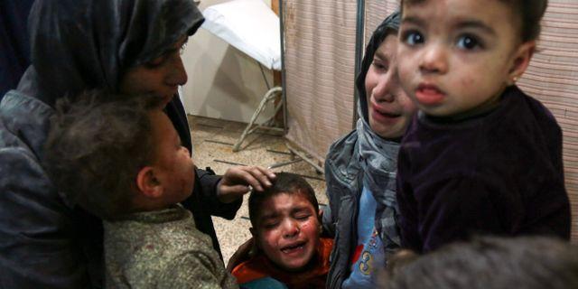 HAMZA AL-AJWEH / AFP