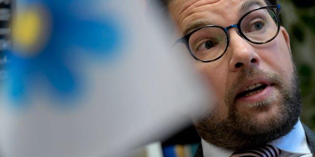 Jimmie Åkesson.  Janerik Henriksson/TT / TT NYHETSBYRÅN