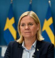 Finansminister Magdalena Andersson (S). Robin Ek / TT / TT NYHETSBYRÅN