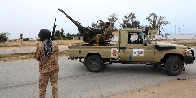 Tripoliregeringens styrkor, arkivbild. Hazem Ahmed / TT NYHETSBYRÅN/ NTB Scanpix