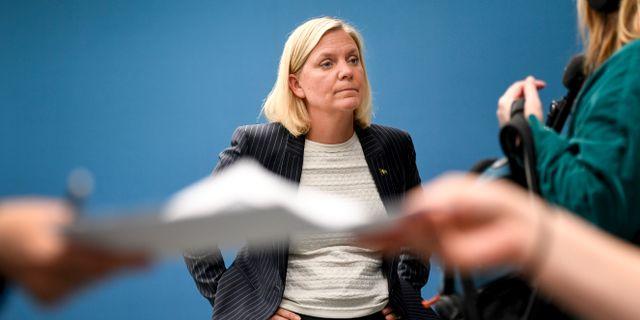 Finansminister Magdalena Andersson. Ali Lorstani/TT / TT NYHETSBYRÅN