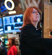 Arkivbild: Wall Street bevakar Fed-möte. Bebeto Matthews / TT NYHETSBYRÅN