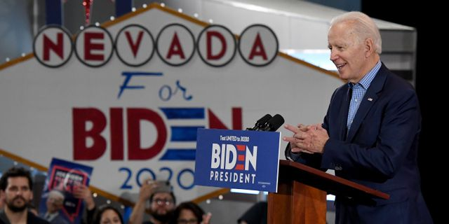Joe Biden.  Ethan Miller / TT NYHETSBYRÅN