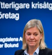 Magdalena Andersson. Anders Wiklund/TT / TT NYHETSBYRÅN