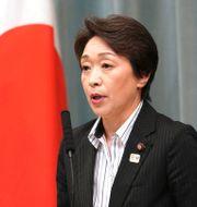 Seiko Hashimoto, minister i Japans regering. Eugene Hoshiko / TT NYHETSBYRÅN