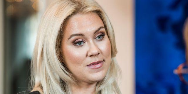Isabella Löwengrip säljer sitt sminkbolag Löwengrip beauty. Lars Pehrson/SvD/TT / TT NYHETSBYRÅN