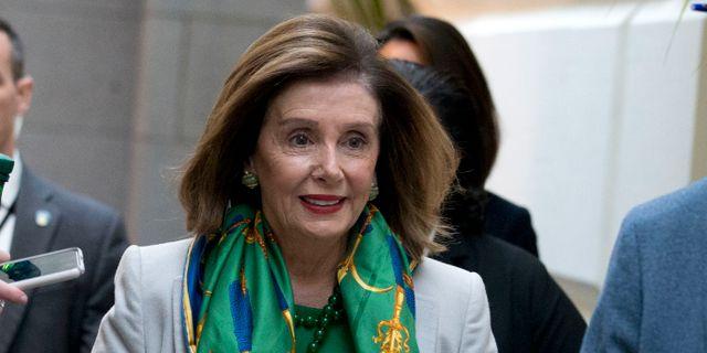 Nancy Pelosi.  Jose Luis Magana / TT NYHETSBYRÅN