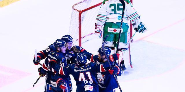 Linköping tog andra raka när man besegrade Rögle med 5–1 hemma. JOSEFINE LOFTENIUS / BILDBYRÅN