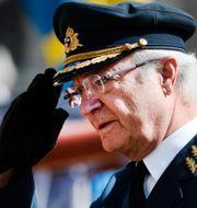 Kung Carl XVI Gustaf. Henrik Montgomery/TT / TT NYHETSBYRÅN