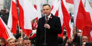 Polens president Andrzej Dudas. Arkivbild. Czarek Sokolowski / TT NYHETSBYRÅN