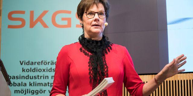 Anna Holmberg, energidirektör och verksamhetsansvarig på SKGS.
