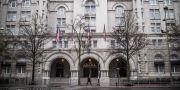 Illustrationsbild: Ett av de hotell som bär Trumps namn i Washington.  ERIC BARADAT / TT NYHETSBYRÅN