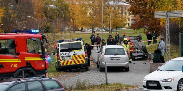 Bild från Oslo. Håkon Mosvold Larsen / TT NYHETSBYRÅN