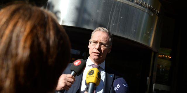Arkivbild: SAS vd Rickard Gustafson. Vilhelm Stokstad/TT / TT NYHETSBYRÅN