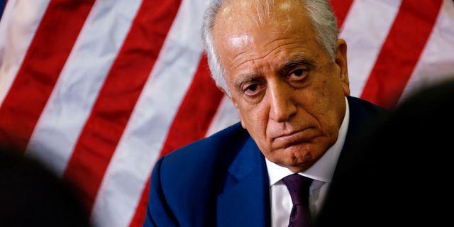 USA-sändebudet Zalmay Khalilzad. HANDOUT / TT NYHETSBYRÅN