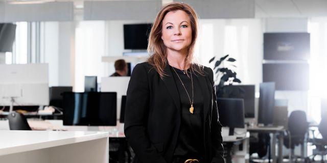 Stephanie Göthman, gästkrönikor i Omni Ekonomi.  Magnus Sandberg