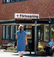 Förlossningsavdelningen på Karolinska i Solna. Claudio Bresciani / TT / TT NYHETSBYRÅN