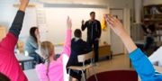 Arkivbild, klassrum. FREDRIK SANDBERG / TT / TT NYHETSBYRÅN