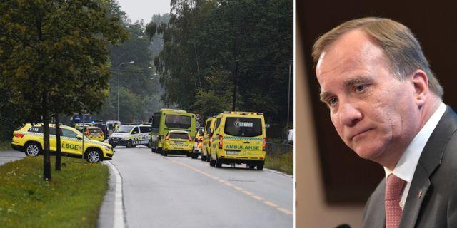 Moskédådet i Norge/Stefan Löfven (S). TT