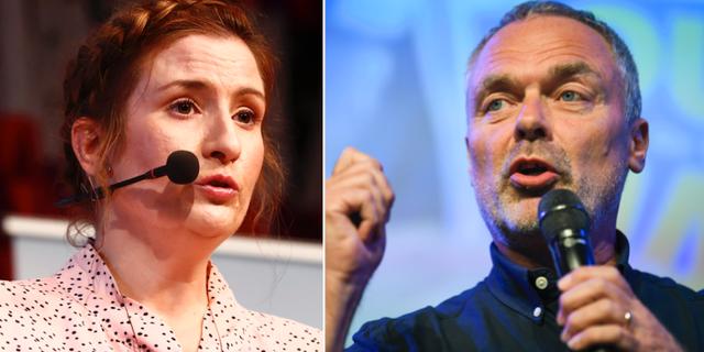 Birgitta Ohlsson och Jan Björklund.  TT