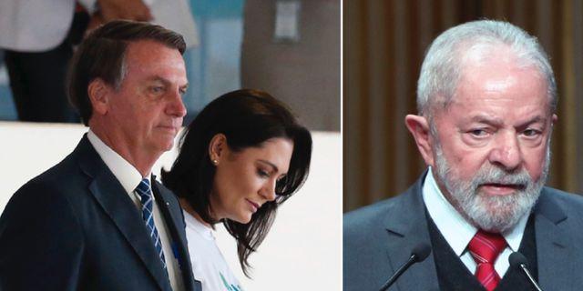 Jair och Michelle Bolsonaro/Lula da Silva TT