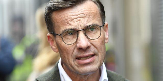 Ulf Kristersson (M).  Henrik Montgomery/TT / TT NYHETSBYRÅN