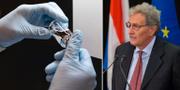 Läkemedlet Remdesivir / Chefen för EU:s medicinbyrå Guido Rasi.  TT
