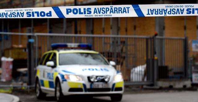 Illustrationsbild på en polisavspärrning. PONTUS LUNDAHL / TT / TT NYHETSBYRÅN